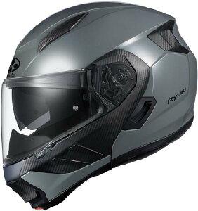 (ヘルメット バイク) OGK KABUTO (オージーケーカブト) RYUKI (リュウキ リューキ) ミディアムグレー/M ヘルメット (欠品中 次回入荷予定未定)