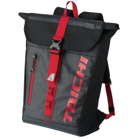 RSタイチ RSB278 WP バックパック BLACK/RED 25L