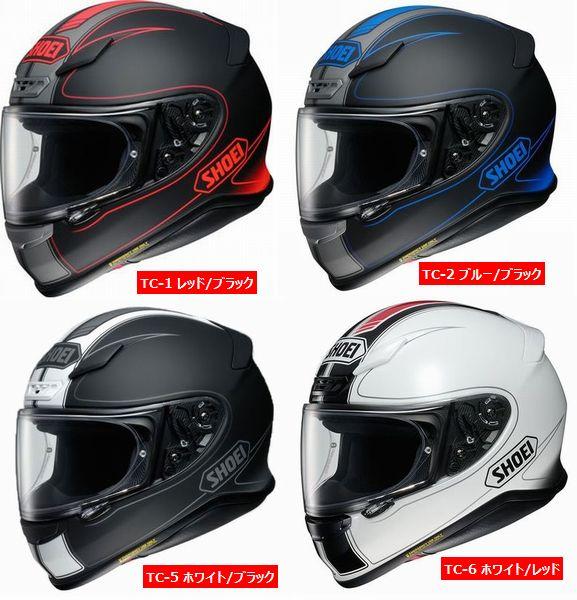 5月30日PM23時59分まで!!PCかスマホエントリーと購入でポイント5倍!! Shoei (ショウエイ) Z-7 (Z7) Flagger (フラッガー) ヘルメット (ピンロックシート付属)