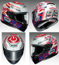 Shoei (ショウエイ) Z-7 (Z7) MARQUEZ POWER UP! (マルケスパワーアップ) ヘルメット (ピンロックシート付属) (受注期間限定…