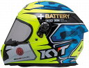 KYT KR-1 ヘルメット アレックス エスパルガロ レプリカ ブルー (SG MFJ公認申請中) (日本代理店正規品)