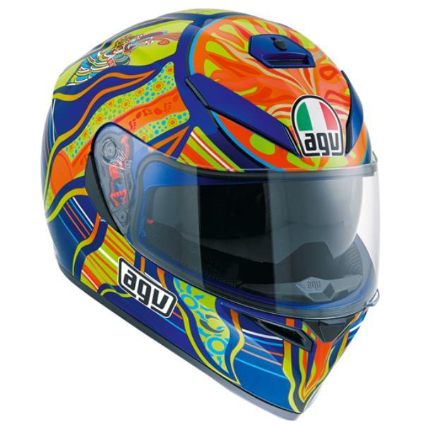 AGV K-3 SV (K3 SV) ヘルメット FIVE CONTINENTS (ファイブコンティネンツ ファイブコンチネンツ) サンバイザー標準装備 ピンロックシート付属 SG規格 MFJ公認 (返品 交換不可商品) (日本代理店正規品)