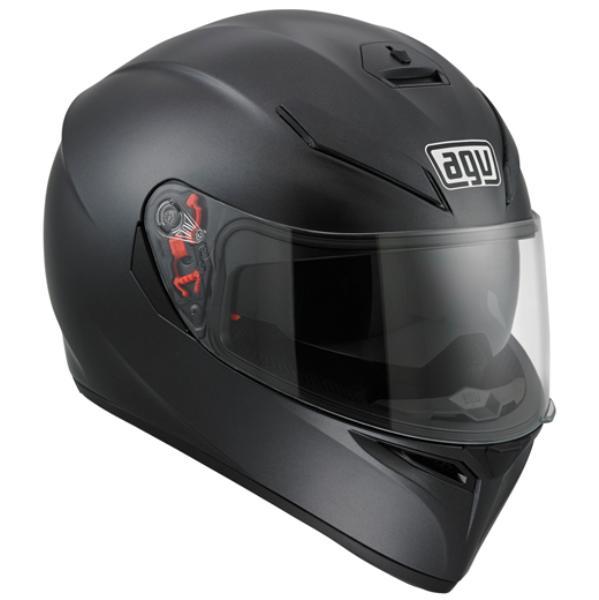 AGV K-3 SV (K3 SV) ヘルメット MATTE BLACK (マットブラック) サンバイザー標準装備 ピンロックシート付属 SG規格 (返品 交換不可商品) (日本代理店正規品) (欠品あり 次回入荷予定未定)