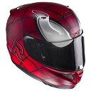 HJC RPFA11 (アルファ11) Spider Man (スパイダーマン) ヘルメット MARVEL (マーベル) オフィシャルグラフィック (HJH11...