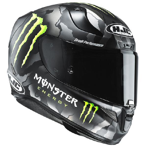 HJC RPFA11 (アルファ11) MILITARY CAMO (ミリタリーカモ) ヘルメット Monster Energy (モンスターエナジー) (HJH129) (正規品 SG規格) (返品 交換 キャンセル不可商品)