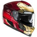 HJC RPHA 70 (アルファ70)Marvel (マーベル) Ironman Home Coming (アイアンマン ホームカミング) ヘルメット (HJH139) (イン…