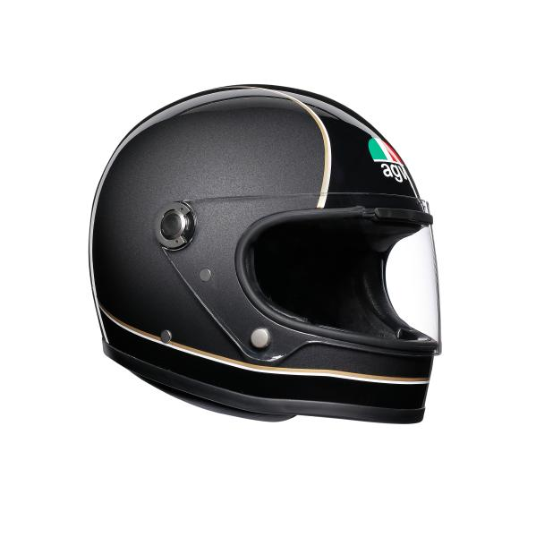 AGV Legends (レジェンド レジェンズ) X3000 AGV JIST MULTI ヘルメット SUPER AGV ブラック/グレー/イエロー (返品 交換不可商品) (日本代理店正規品) (欠品あり 次回入荷予定未定)