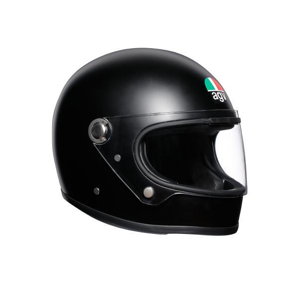 AGV Legends (レジェンド レジェンズ) X3000 AGV JIST SOLID ヘルメット マットブラック (返品 交換不可商品) (日本代理店正規品) (欠品あり 次回入荷予定未定)