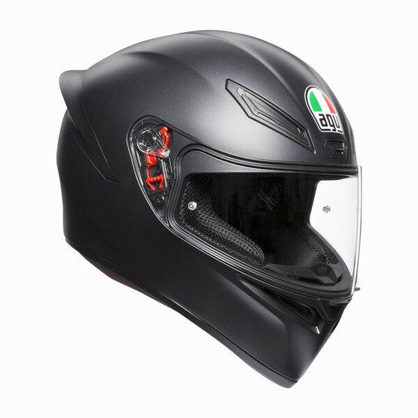 AGV K1 (K-1) ヘルメット マットブラック SG規格 (返品 交換不可商品) (日本代理店正規品) (欠品あり 次回入荷予定未定)