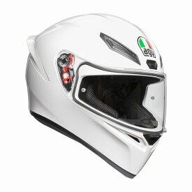 AGV K1 (K-1) ヘルメット ホワイト SG規格 (返品 交換不可商品) (日本代理店正規品) (欠品あり 次回入荷予定未定)