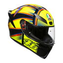 AGV ヘルメット K1 (K-1) JIST TOP SOLELUNA 2015 (ソレルナ2015) Sサイズ