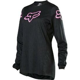 8月9日AM1時59分まで!お買物マラソン!エントリーと買い回りでポイント最大10倍!! 2020 Fox (フォックス) 180 PRIX Womens (女性用) MXジャージ MXパンツ 上下セット ブラック/ピンク