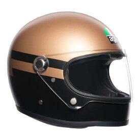 AGV Legends (レジェンド レジェンズ) X3000 AGV SUPERBA GOLD/BLACK (ゴールド/ブラック) ヘルメット (返品 交換不可商品) (日本代理店正規品) (欠品あり 次回入荷予定未定)