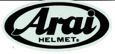 お買物マラソン!1月16日AM1時59分まで!買い回りでポイント最大10倍!! (ヘルメット バイク) ARAI (アライ) スコッチマーク ステッカー 121590 W8.5cm