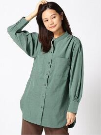 [Rakuten Fashion]【SALE/25%OFF】K/ピーチツイルシャツ LEPSIM レプシィム シャツ/ブラウス 長袖シャツ カーキ ベージュ グレー【RBA_E】