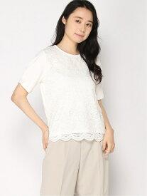 【SALE/20%OFF】H/フロントレースTSS LEPSIM レプシィム カットソー Tシャツ ホワイト グレー ネイビー【RBA_E】[Rakuten Fashion]