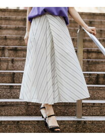 【SALE/50%OFF】H/キリカエストライプSK LEPSIM レプシィム スカート ロングスカート ホワイト ネイビー【RBA_E】[Rakuten Fashion]