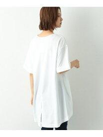 【SALE/50%OFF】B/バックロングTU5S LEPSIM レプシィム カットソー Tシャツ ホワイト グレー ベージュ【RBA_E】[Rakuten Fashion]