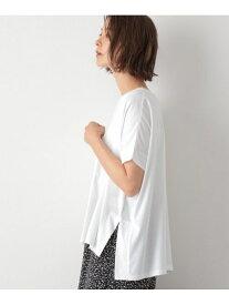 【SALE/50%OFF】B/スリットワイドT LEPSIM レプシィム カットソー Tシャツ ホワイト オレンジ ベージュ ブラック【RBA_E】[Rakuten Fashion]