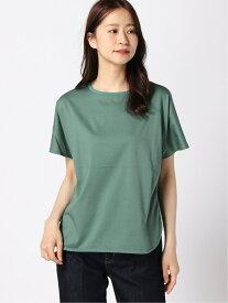 【SALE/68%OFF】K/リブNシルケットPOSS LEPSIM レプシィム カットソー Tシャツ グリーン ベージュ ブラック【RBA_E】[Rakuten Fashion]