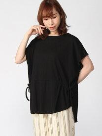 [Rakuten Fashion]K/テレコウエストマークTU LEPSIM レプシィム カットソー カットソーその他 ブラック レッド