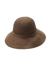 【SALE/50%OFF】B/ペーパーキリカエHAT LEPSIM レプシィム 帽子/ヘア小物 ハット ブラウン ベージュ【RBA_E】[Rakuten Fashion]