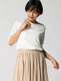 [Rakuten Fashion]【SALE/36%OFF】K/デザインリブBN5S LEPSIM レプシィム カットソー カットソーその他 ホワイト ブラック ブラウン レッド【RBA_E】
