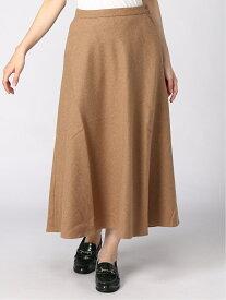 [Rakuten Fashion]【SALE/60%OFF】K/ウールフレアマキシSK LEPSIM レプシィム スカート フレアスカート ブラウン ブラック レッド【RBA_E】