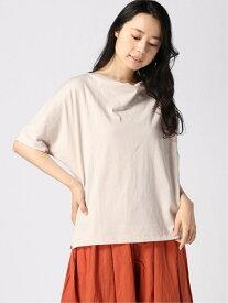 【SALE/50%OFF】K/ドレープネックPOSS LEPSIM レプシィム カットソー Tシャツ ベージュ ブラック レッド ホワイト【RBA_E】[Rakuten Fashion]