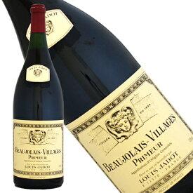 ボージョレ ヴィラージュ プリムール 木箱入 2020年 正規品 辛口 赤ワイン 3000ml【ルイ・ジャド】ボジョレー・ヌーヴォー 新酒ワイン