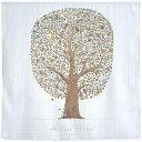 アトリエシュー タオルケット おくるみ 100cm × 100cm ブランケット【 Friends&Family Tree 】 ガーゼ Atelier Choux