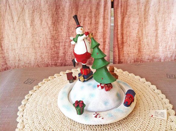送料無料!ラッピング無料!X'masスノーマン オルゴール/♪We wish you a merry chiristmas【smtb-f】