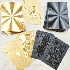 【ホログラム調 トランプ カード】おしゃれ インテリア ゴールド パーティー 派手 マジシャン ゲーム マジック おもしろ 雑貨 ポーカー テーブルゲーム