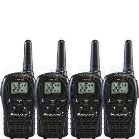 MIDLAND ミッドランド LXT500VP3 4台 トランシーバー 無線機