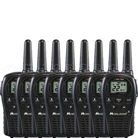 MIDLAND ミッドランド LXT500VP3 8台 トランシーバー 無線機