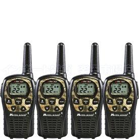 MIDLAND ミッドランド LXT535VP3 4台 トランシーバー 無線機