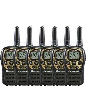 MIDLAND ミッドランド LXT535VP3 6台 トランシーバー 無線機