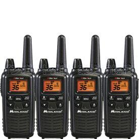 MIDLAND ミッドランド LXT600VP3 4台 トランシーバー 無線機