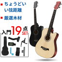 【送料無料】ギター 初心者 アコギ 20点セット 入門 アコースティックギター フォックギター タイプ 新品 初学者 子供…