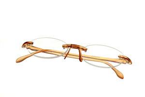 【デザイン老眼鏡】エアリーダー 丸型 アンバー+2.5[R-ARO-AM-25]【アイマジン EYEMAGINE】【男性】【女性】【おしゃれ】【楽ギフ_包装】【楽ギフ_メッセ入力】敬老の日