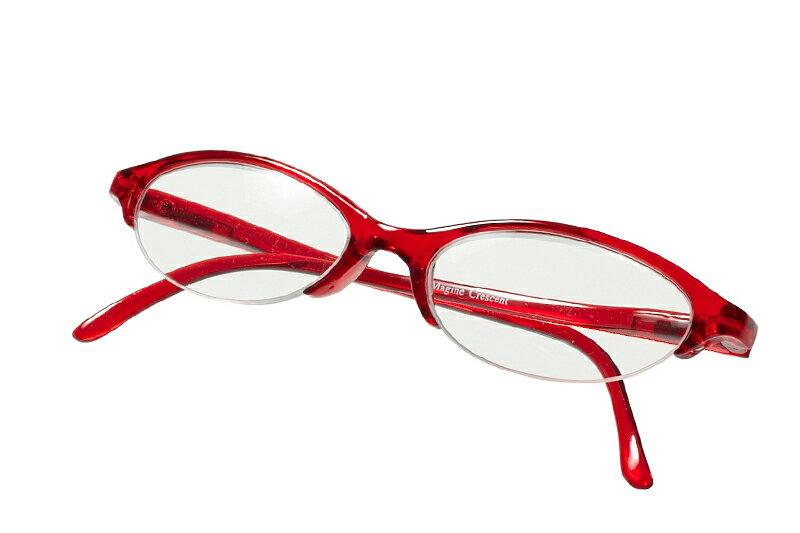 【デザイン老眼鏡】クレセント クリスタルレッド[R-CRT-CRD]【アイマジン EYEMAGINE】【男性】【女性】【おしゃれ】敬老の日