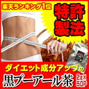 黒プーアール茶(1〜2人用ティーバッグ2g×50袋) 話題のダイエットティー!【特許製法】【送料無料】 [ダイエット お茶…