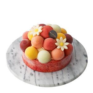GLACIELルタオアイスケーキ【バルーンドフリュイ直径12cm】父の日アイスクリームプレゼント食べ物誕生日送料無料アイスクリームアイスギフトケーキお取り寄せ誕生日バースデーケーキアントルメグラッセfather'sday