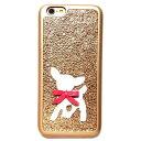 セール mabba バンビ刺繍 iphone6ケース iphone6sケース ドイツ製品 子鹿 刺しゅう 本革製 レザーケース iPhone Case Bambi gold 黄金…
