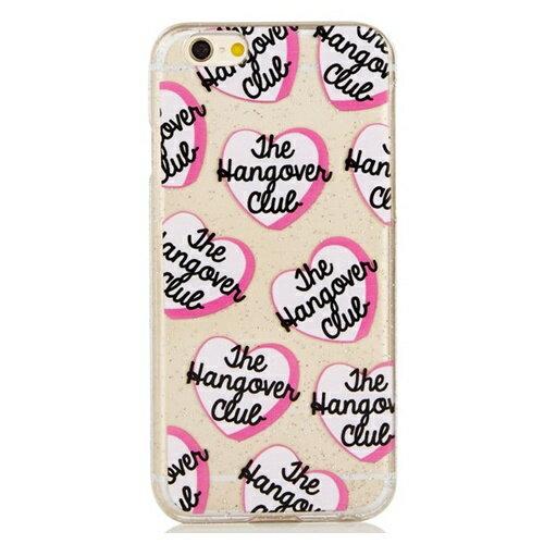 skinnydip スキニーディップ iPhone 6 6S Hangover Club Case かわいい ハート iphone6ケース iphone6sケース ハードケース ハード アイフォンシックスエス カバー オシャレ かわいい 可愛い 柄物 ハート柄 おしゃれ 保護フィルム付 海外ブランド ロンドン 在庫のみ