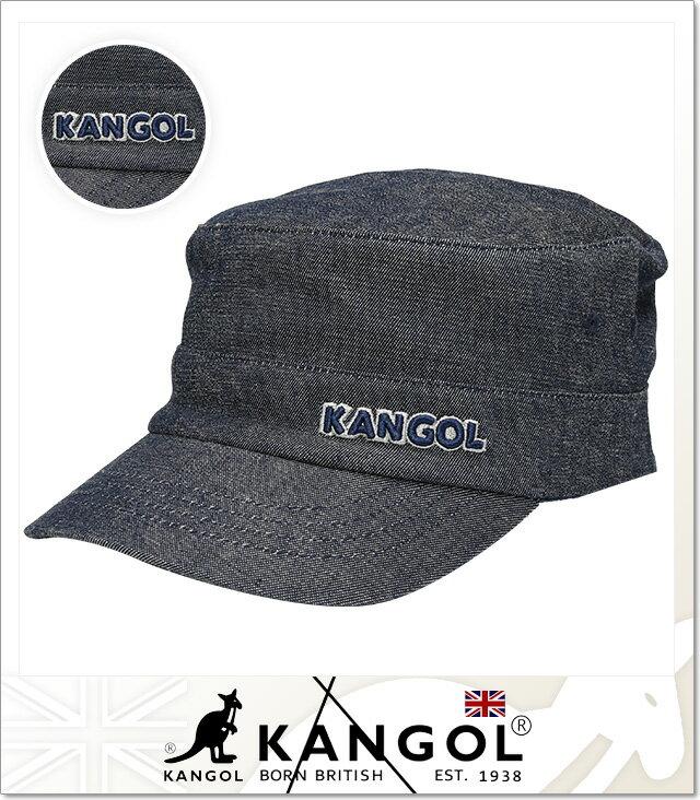 (カンゴール) KANGOL DENIM ARMY CAP (CAP)(COLOR:IN) キャップ 帽子 アーミー ミリタリー 国内正規品