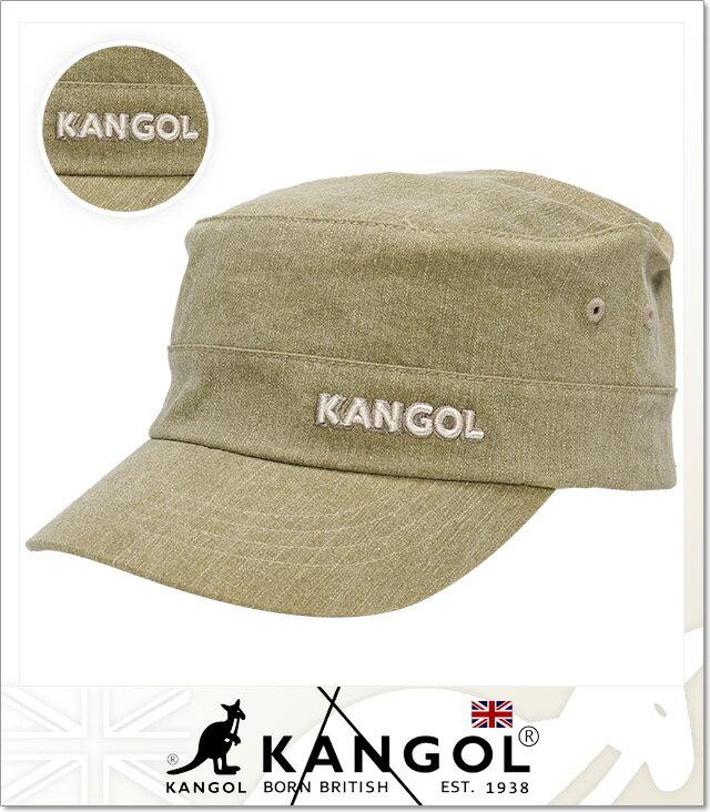 (カンゴール) KANGOL DENIM ARMY CAP (CAP)(COLOR:BE) キャップ 帽子 アーミー ミリタリー 国内正規品
