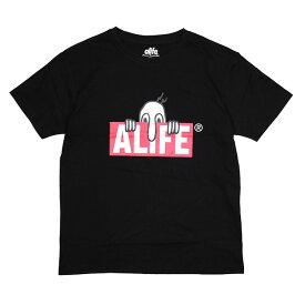 (エーライフ) ALIFE KILROY SS TEE (SS:TEE)(AL16ST08-BK) Tシャツ 半袖 カットソー 国内正規品