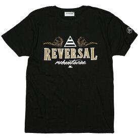 (リバーサル) REVERSAL KEN THE FLATTOP×rebentacao TEE (SS:TEE)(rvsf16ssKTF-BK) Tシャツ 半袖 カットソー 国内正規品