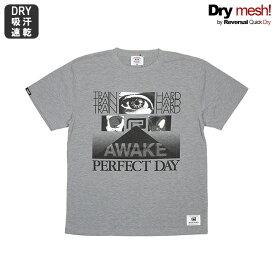 (リバーサル) REVERSAL AWAKE DRY H.MESH TEE (SS:TEE)(rvat16aw003-H.GR) Tシャツ 半袖 カットソー 国内正規品